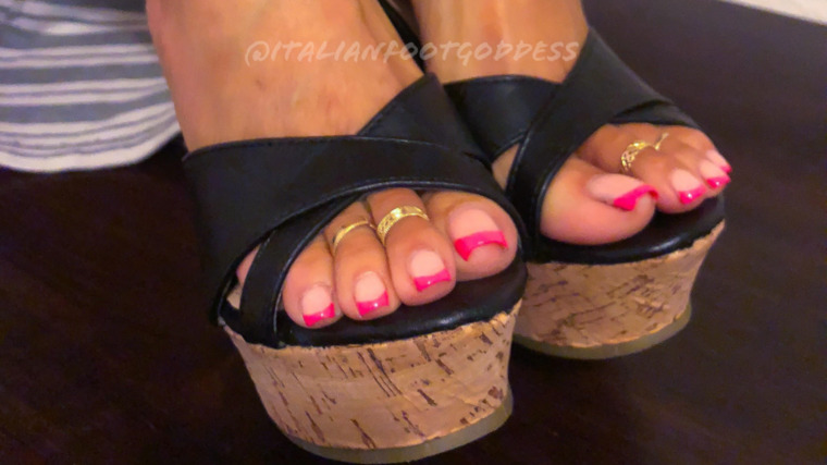 The Italian Foot Goddess OnlyFans Leaked Photos and Videos